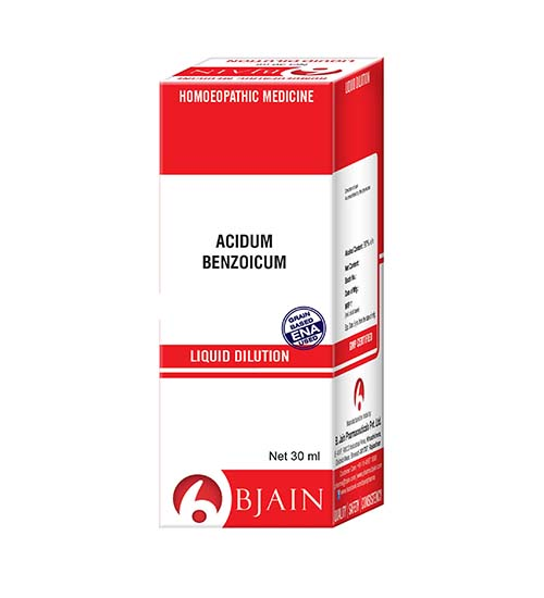 Acidum Benzoicum Dilution