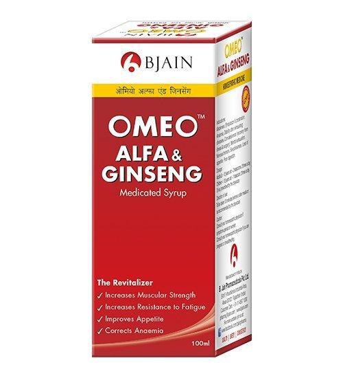 Omeo Alfa & Ginseng Syrup