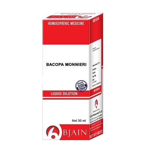 Bacopa Monnieri Dilution Homeopathic Medicine