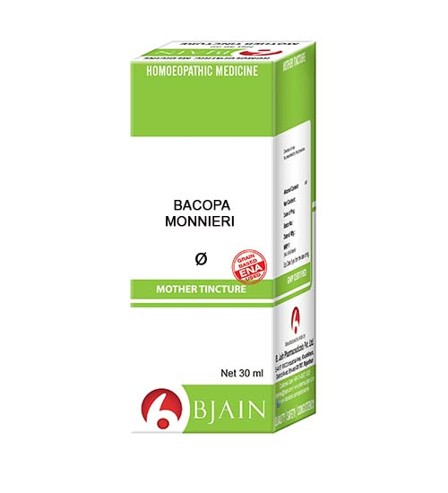 Bacopa Monnieri Mother Tincture Homeopathic Medicine