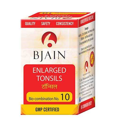Bio-Combination No.10 (Enlarged Tonsils)