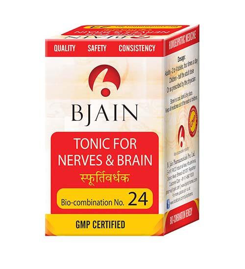 Bio-Combination No.24 (Tonic For Nerves & Brain)