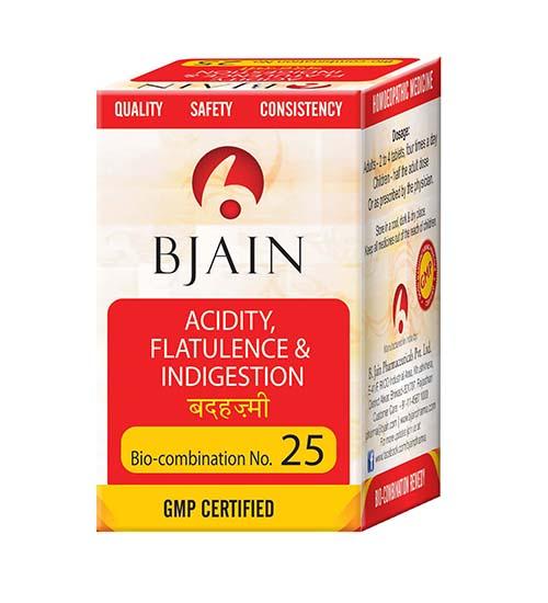 Bio-Combination No.25 (Acidity, Flatulence & Indigestion)