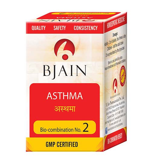 Bio-Combination No.2 (Asthma)