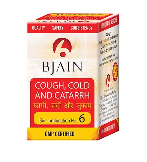 Bio-Combination No.6 (Cough, Cold and Catarrh)