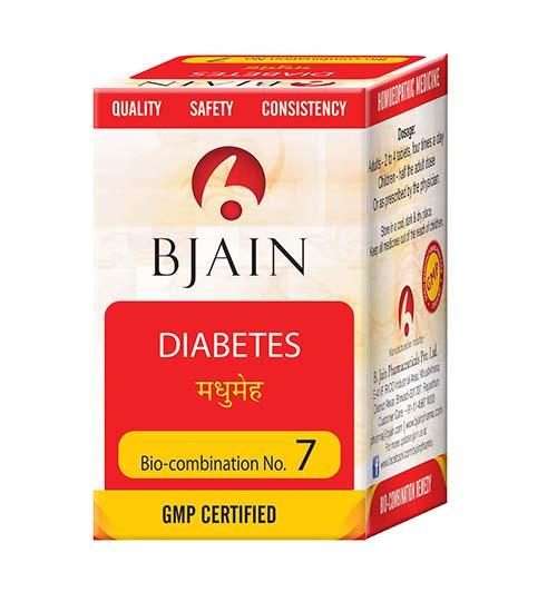 Bio-Combination No.7 (Diabetes)