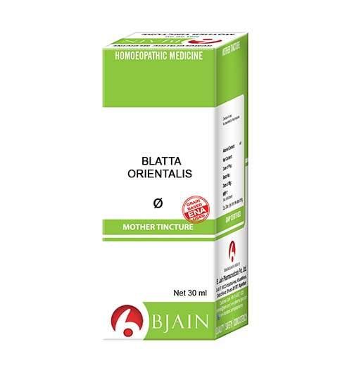Blatta OrientalisMother Tincture