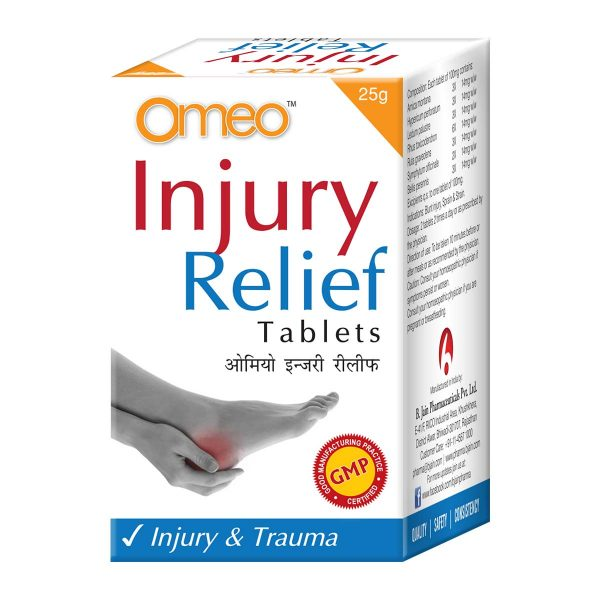 Omeo Injury Relief Tablets