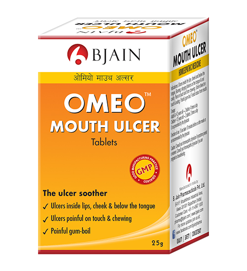 Omeo Mouth Ulcer Tablets