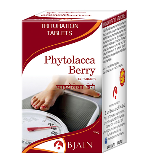 Phytolacca Berry 1X Tablet