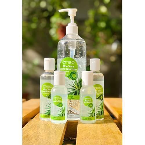 Omeo Aloe Vera Hand Sanitizer With 70% Alcohol