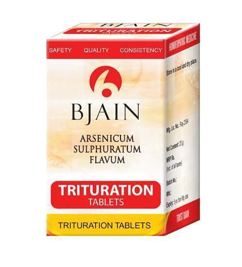 Arsenicum Sulphuratum Flavum