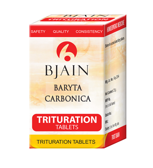Baryta Carbonica Trituration Tablets