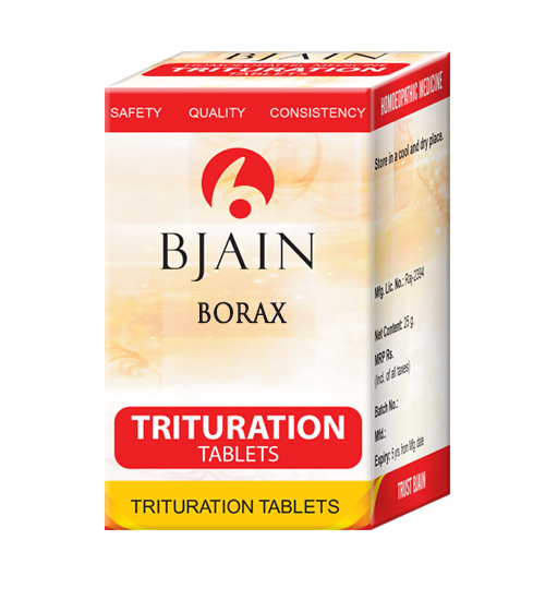 Borax Trituration Tablets