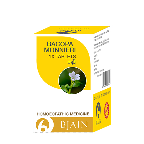Bacopa Monnieri 1X Tablets (Brahmi)