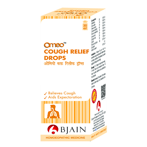 OMEO COUGH RELIEF DROPS