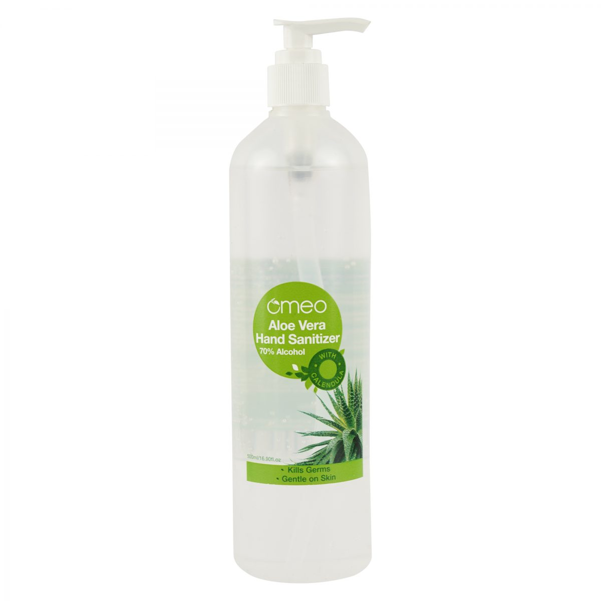 Omeo Aloe Vera Hand Sanitizer with Dispenser Online