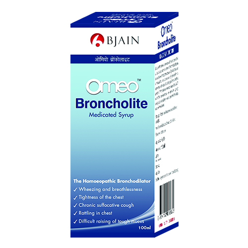 Omeo Broncholite Medicated Syrup