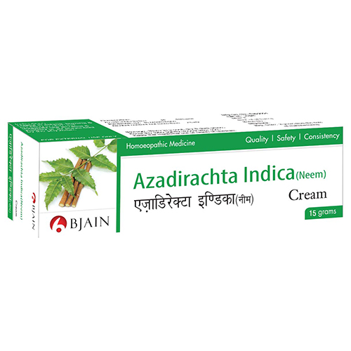Azadirachta Indica (Neem) Cream